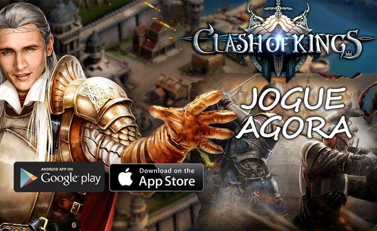 Clash of Kings - Jogue agora no seu celular um dos melhores jogos GRATUITOS!