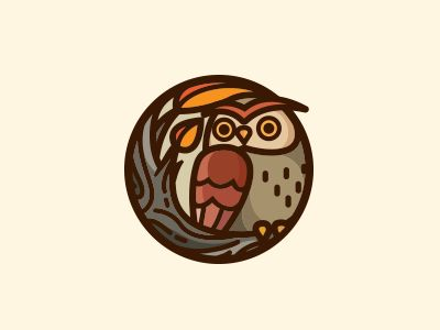 Owl by Carlos Puentes #Design Popular #Dribbble #shots