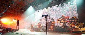 Portishead - Roskilde Festival 2011.  Great Bristol band.