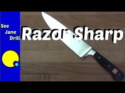Best 25 Kitchen Knife Sharpening Ideas On Pinterest  How To Prepossessing Kitchen Knife Sharpening Inspiration