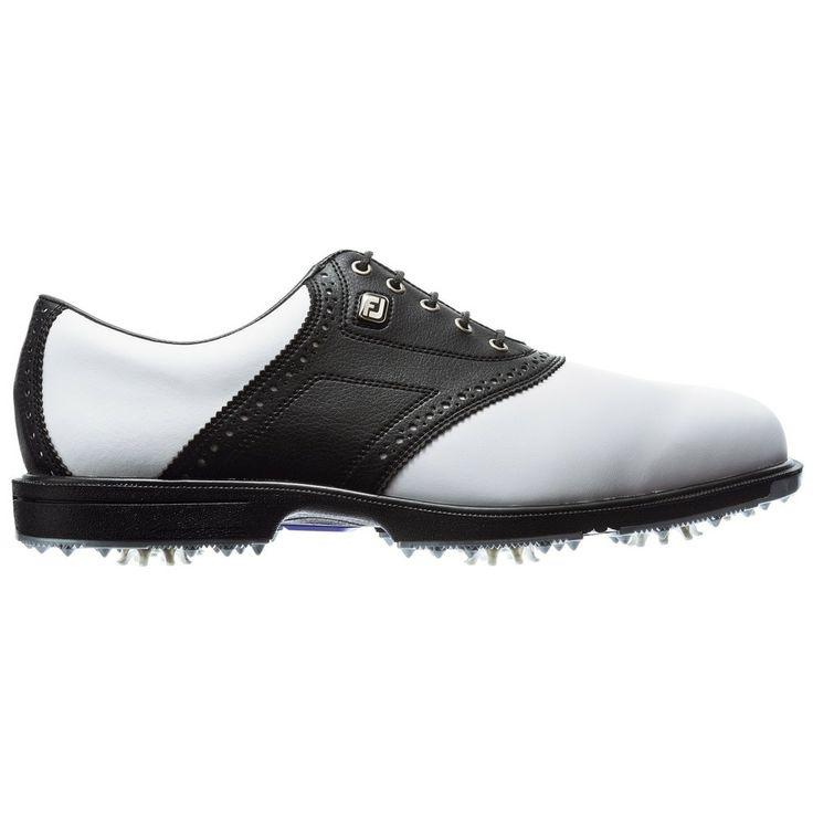Footjoy Womens Lopro Golf Shoe White Black