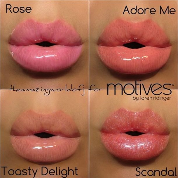 42 Best Lips - Motives Cosmetics  Sun Kissed Glow Images -7750