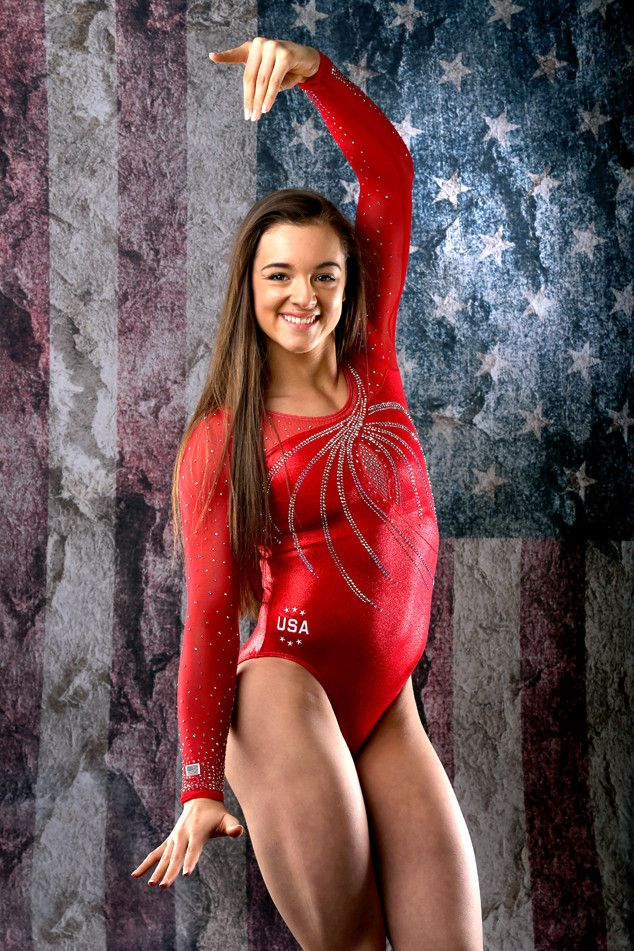 Maggie Nichols from 2016 U.S. Olympic Portraits  Gymnast