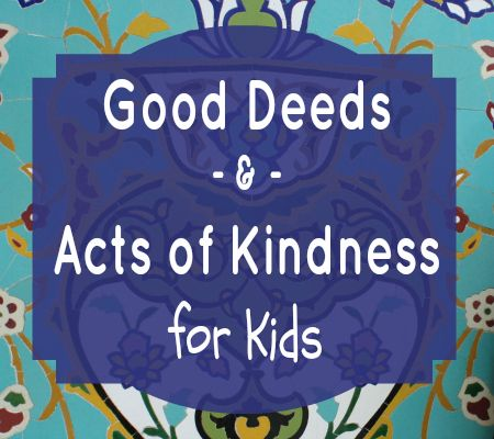 10 Good Deeds and Acts of Kindness Baby Can Participate In During Ramadan and Beyond - A great list that encourages getting your children involved in charity (and other good deeds). Love the reminder to donate in baby's name :)