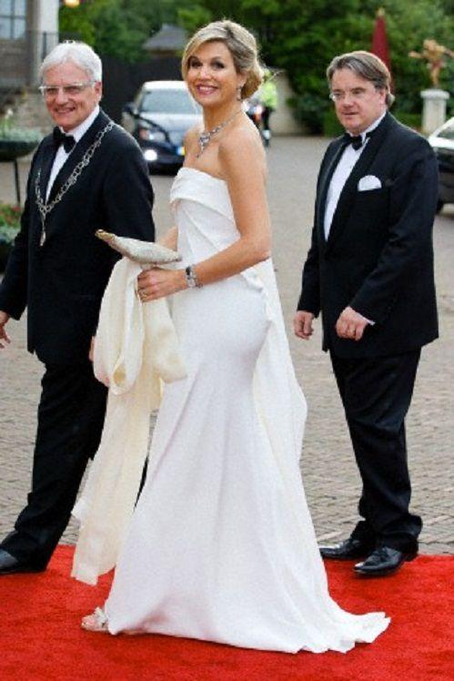 Queen Maxima of The Netherlands attends the gala concert of the 'Koninklijke Sophia?s Vereeniging' from Loon op Zand in Kaatsheuvel, The Netherlands, 22.05.2014.