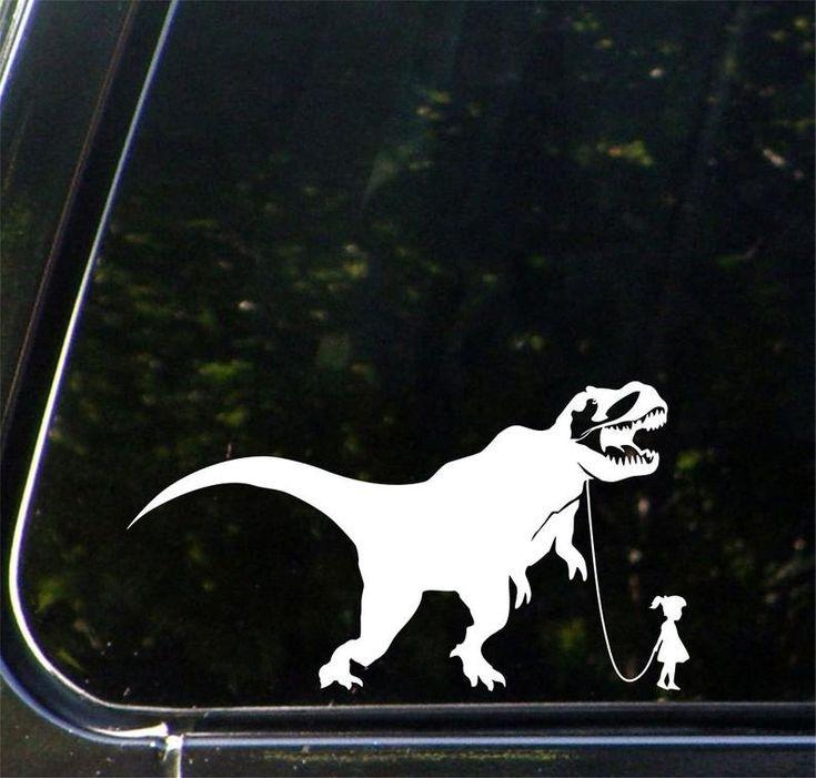 CAR Pet Dinosaur A Girl and Her TRex Car Truck
