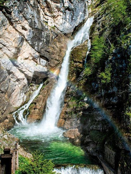 Er zijn meer dan300 watervallen in Slovenië. Hier vind je de mooiste.
