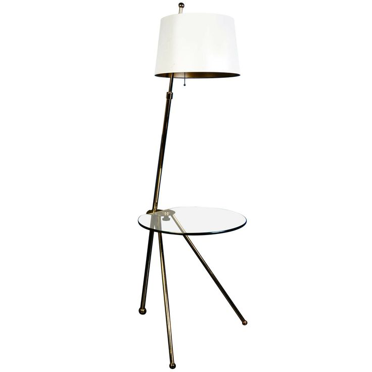 Vintage Pedestal-Table Lamp | From a unique collection of antique and modern table lamps at http://www.1stdibs.com/furniture/lighting/table-lamps/