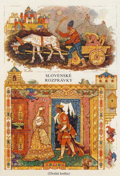 Slovenské rozprávky, Pavol Dobšinský, ilustrácie Ľudovít Fulla,Czechoslovakia