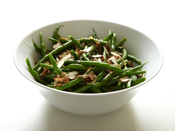 Mark Bittman's Green Beans with Crisp Shallots: Thsi is our go-to green bean recipe, but you can use this simple technique with lots of veggies, and they come out perfectly every time.