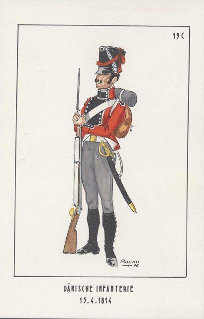 Denmark; Line Infantry c.1814