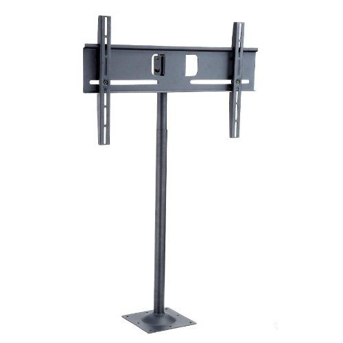 """Adjustable Ergonomic TV Stand for 32"""" - 46"""". Sleek design provides extra space. Pole length adjustment range: 49.8in - 71.85in (126.5 - 182.5cm). Easily adjust screen position for optimum viewing - up, down, tilting and swiveling. Flat screen display can achieve 20 degree up / 20 degree down tilt. Supports LCD display weight up to 88 lbs."""