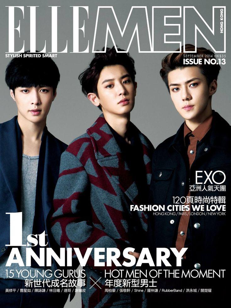 Lay, Chanyeol and Sehun