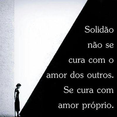 Blogue do Lado Avesso: O que cura a solidão...