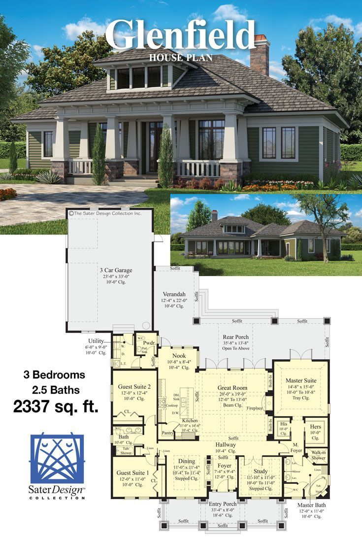 Craftsman House Plans In 2020 Craftsman House Plans Craftsman House Cottage House Plans