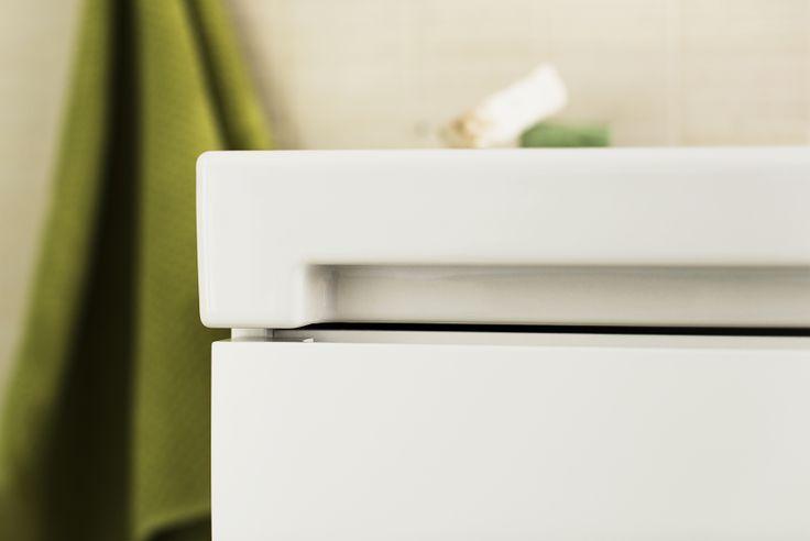 Innovatiivisen suunnittelun ansiosta IDO Seven D -laatikoissa ei tarvita vetimiä.