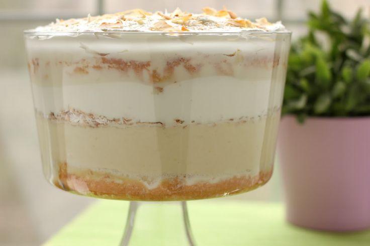 Tres Leches Coconut Cake Trifle Willow Bird Baking