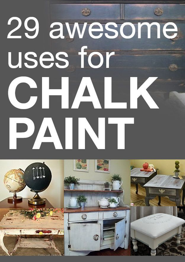 awesome uses for chalk paint Idea Box