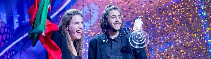 Der ESC-Gewinner Salvator Sobral mit seiner Schwester.