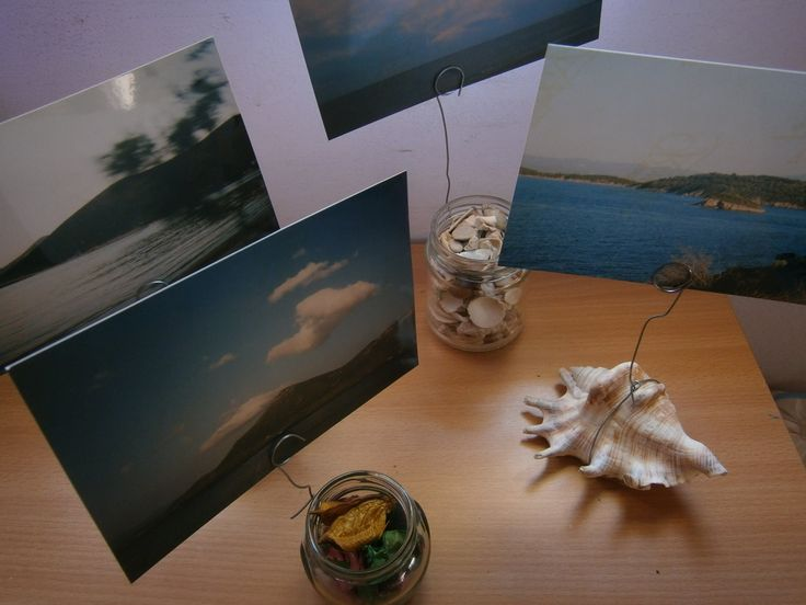 Diy - How to make natural photo holders