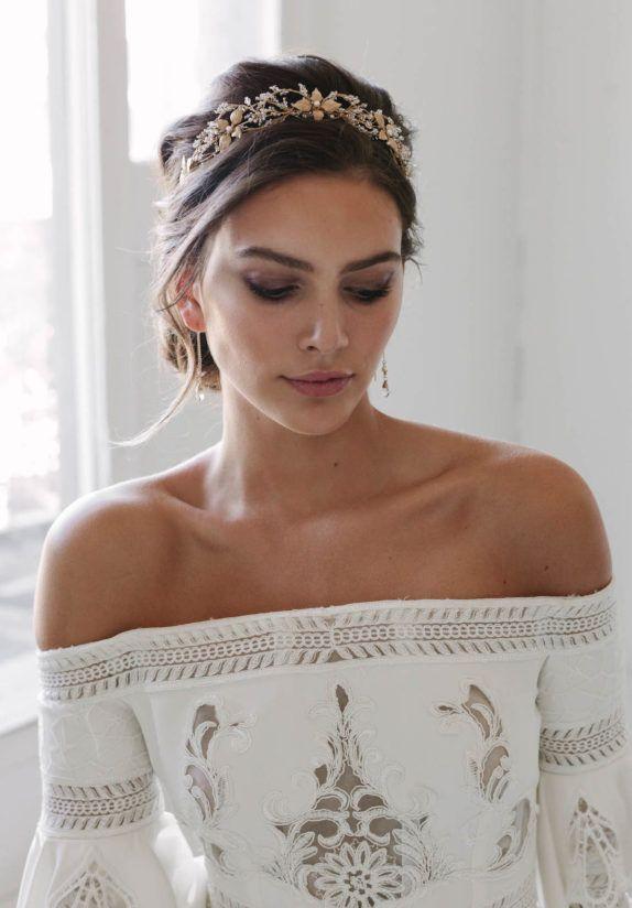 ROSEBURY crystal wedding crown 1