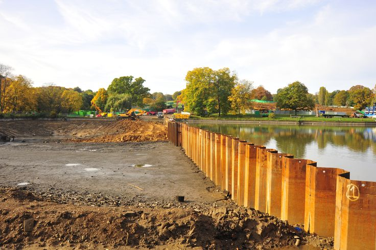 17 Best Sheet Pile Walls And Foundations Images On