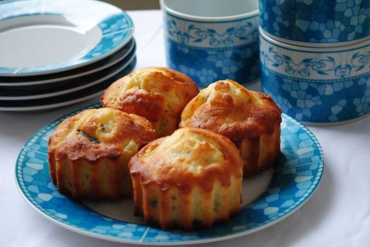 Ces muffins poire, chocolat ont étaient un succès lors des goûters, pris dans la cour de récréation de mon fils.