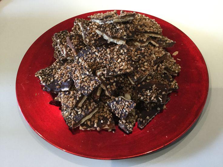 Galletas bañadas de TOFFEE y chocolate