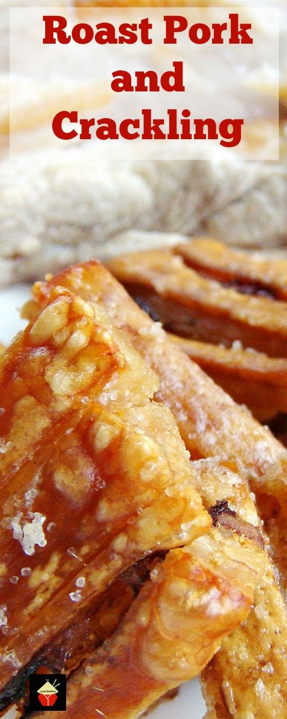 Roast Pork and Crackling - Let me show you the easy trick to getting a nice crispy crackling PLUS tender juicy meat! via @lovefoodies