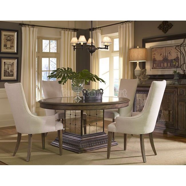 Aphrodite Dining Room Set W/ Zona Chairs