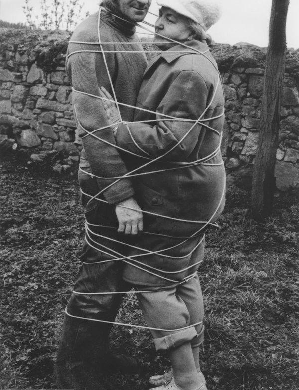 Milan Knížák, Nucené symbiosy, 1977