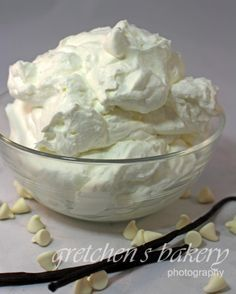 White Chocolate Mousse recipe!