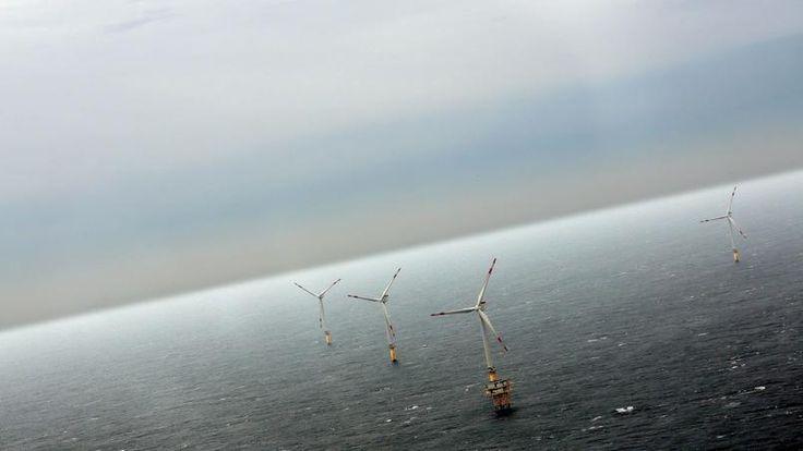 Le parc éolien offshore d'Alpha Ventus a été developpé par Areva en mer du Nord allemande.
