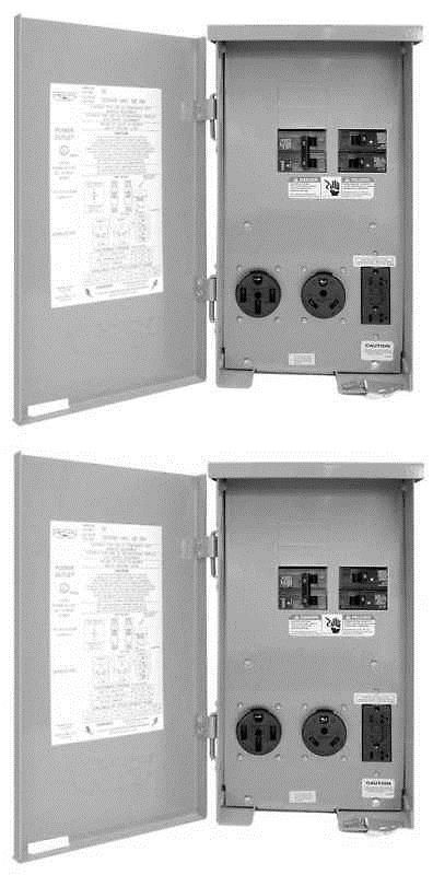 Circuit Breakers And Fuse Boxes 20596 Outdoor Power Outlet 120 240v