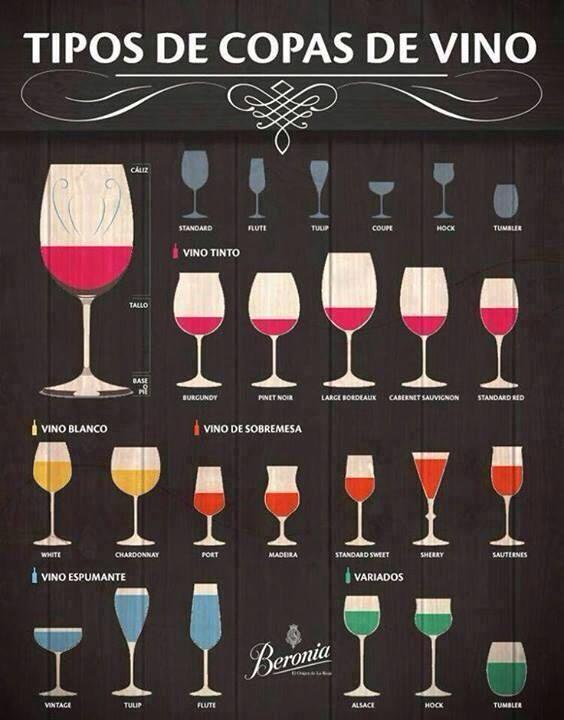 Vinos y copas modales y algo m s pinterest for Tipos de restaurantes franceses