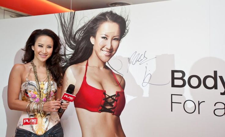 Coco Lee officially opens Pure Fitness at Knightsbridge