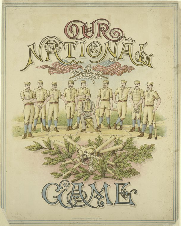 """""""America's National Game:"""" The Albert G. Spalding Collection of Early Baseball Photographs and Drawings"""