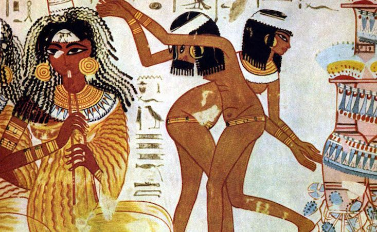 From creating the first vibrator and baboon police to crazy oral hygiene recipes, ancient Egyptians were not bounded by limits when inventing life hacks.
