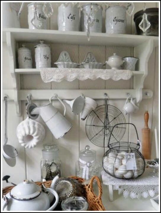 396 best shabby chic für die Landhaus Küche images on Pinterest