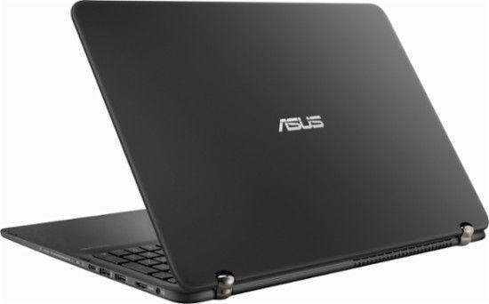 "Asus - 2-in-1 15.6"" Touch-Screen Laptop - Intel Core i7 - 12GB Memory - NVIDIA GeForce 940MX - 2TB Hard Drive - Sandblasted matte black aluminum - Alt_View_Zoom_1"