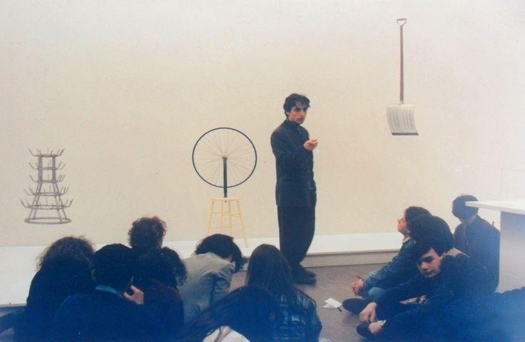 Clase de Arte, Obras de Duchamp  EN EL MUSEO  POMPIDOU 1994
