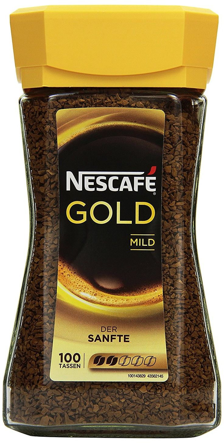 Nescafé Gold Mild, Löslicher Kaffee, 200g Glas: Amazon.de: Grocery