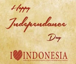 happy independence day indonesia