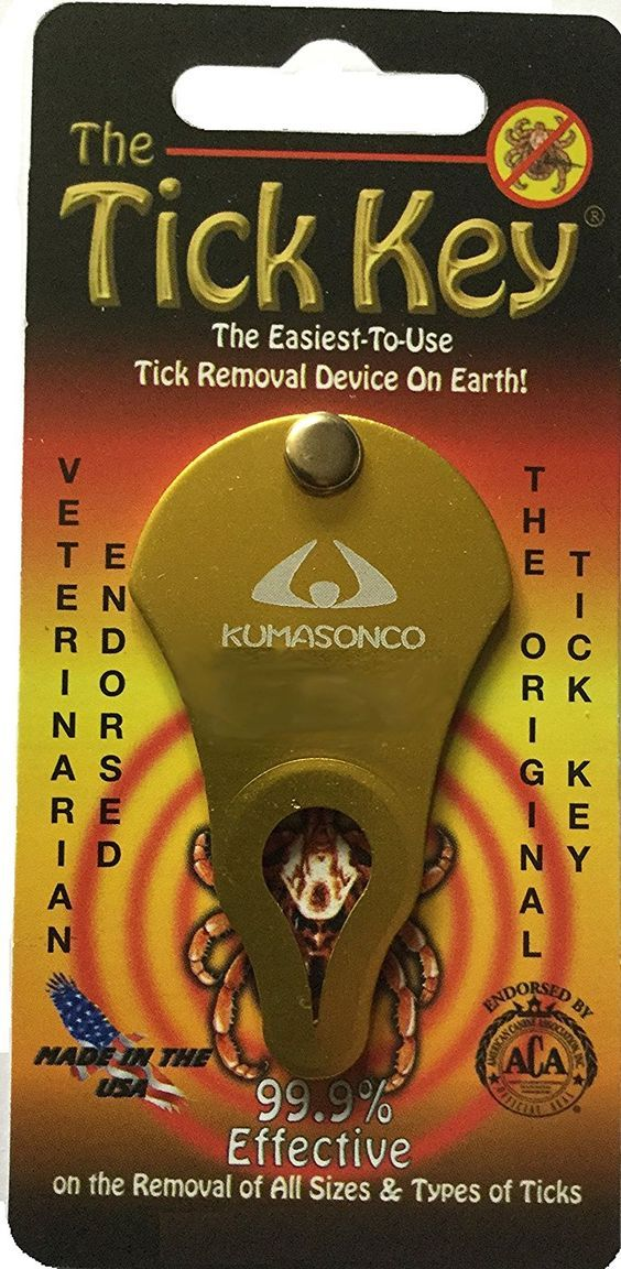 Tick Removal Key ** Click on the image for additional details.