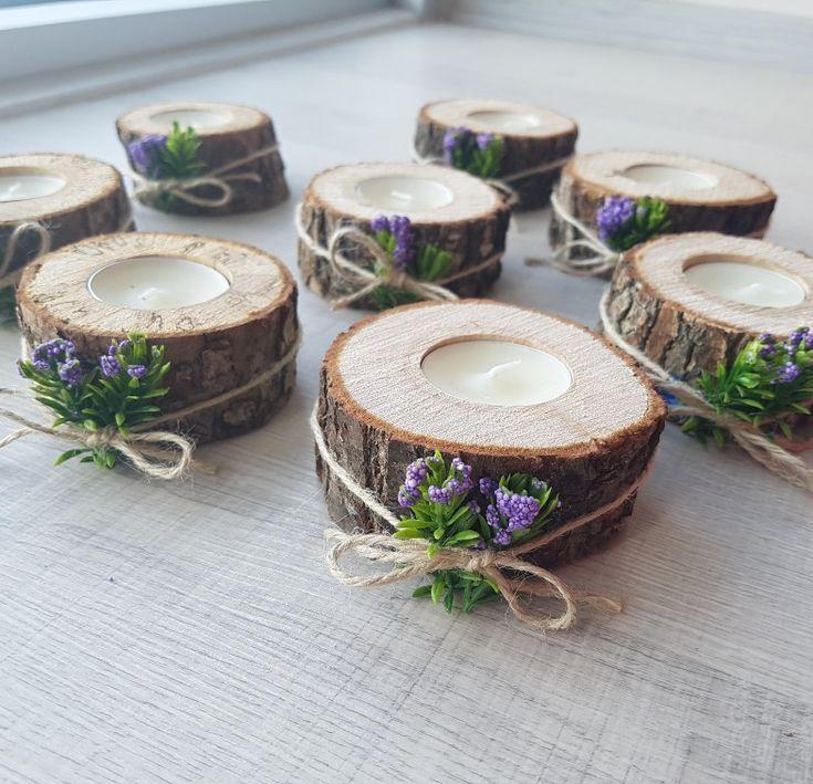 Verlobungsgeschenk Billet Kerzenhalter – Wood Design – Hochzeitsideen