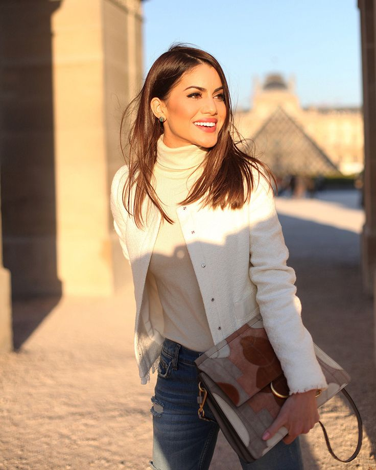 Super Vaidosa Look Casual Chic em Paris - Super Vaidosa                                                                                                                                                                                 Mais