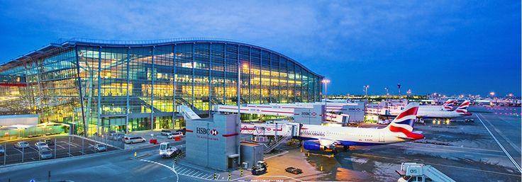Heathrow Terminal 5 / London / Richard Rodgers (2008)
