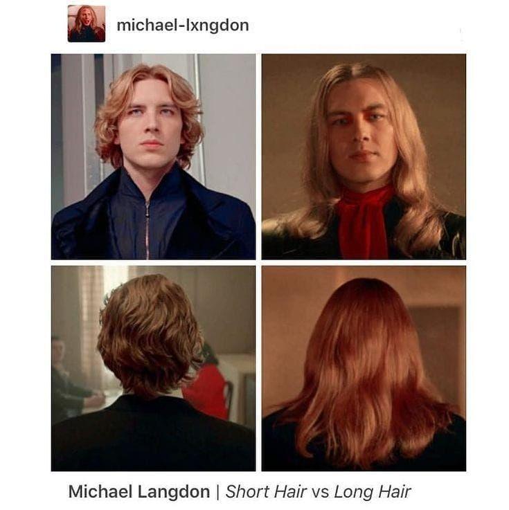 Short Hair Or Long Hair Michael Tags Codyfern Ahs Ahsfx Ahsap American Horror Story American Horror Story Memes American Horror Story Characters