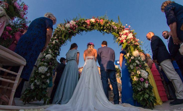 kefalonia greek wedding. real wedding #cleopatraweddings