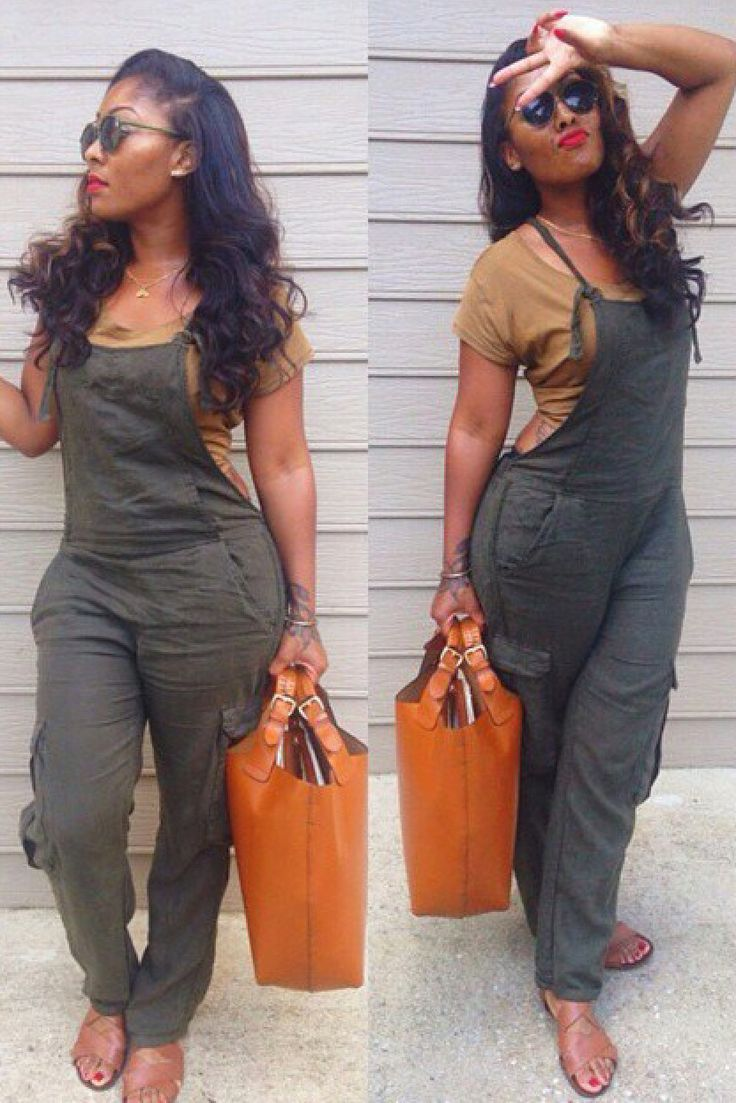 Casual Sleeveless Solid Color Pocket Embellished Women's Overalls